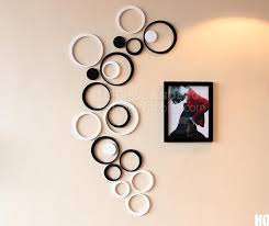 Black And Red Wall Decor