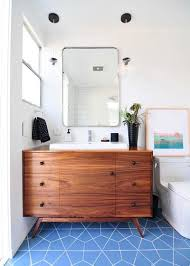 45 Ft Bathroom by Midcentury Modern Style In A 56 Square Foot Bathroom