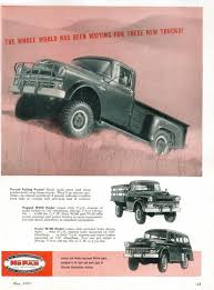 Dodge - Adv (1957) | Ads | Dodge Trucks, Dodge, Trucks Vintage Dodge Truck Wiring Harnses Easy Diagrams Lmc Truck Parts Free Catalog This Thing Is Awesome Youtube 1938 Cars Trucks Parts 1947 Dodge Power Wagon Precision Wagons Power Wagons Car Panel With Labels Auto Body Descriptions 6x6 Wagon Is The Holy Grail Of American 1952 B3 Pickup Original Flathead Six Four Speed Old Ad 1945 Life Magazine Red Etsy
