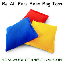 Be All Ears Bean Bag Toss Auditory Processing Listening To Directions Activity