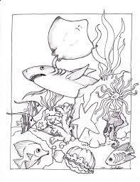 Happy Under The Sea Coloring Sheets 65