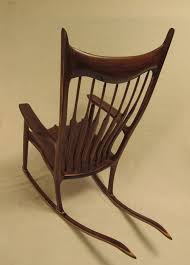 Sam Maloof Rocking Chair Class by Sam Maloof Inspired Walnut Rocking Chair By Woodbridge