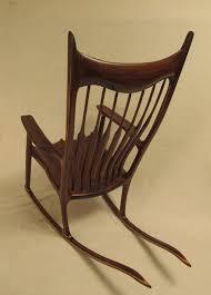 Sam Maloof Rocking Chair Video by Sam Maloof Inspired Walnut Rocking Chair By Woodbridge
