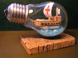 Recycle Old Light Bulb 9 Steps with