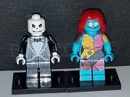 Nightmare Before Christmas Bathroom Decor by Nightmare Before Christmas Set Of 2 Custom Minifigures Jack
