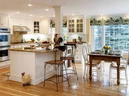 Elegant Kitchen Table Decorating Ideas by Beach Cottage Room Ideas Coastal Kitchen With Bell Jar Lantern