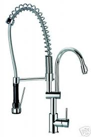 Kwc Kitchen Faucets Amazon by Gourmet Brushed Nickel Deck Mount Faucet With Pre Rinse Sprayer