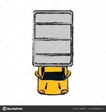 100 Truck Top Drawing Truck Top View Parking Lot Stock Vector Jemastock 136976216