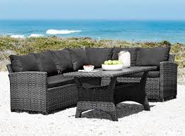 Conversation Sets Patio Furniture by Outdoor Weather Resistant Polyrattan Conversation Set Outdoor