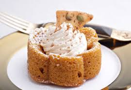 tuile cuisine pumpkin spice cake with mascarpone and maple tuile