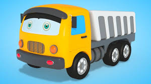 3D Dump Truck | Formation And Uses | Car Cartoons For Kids – Kids ...