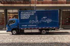 100 Work Trucks Penske Truck Leasing Adds To Electric Fleet With FUSO ECanter