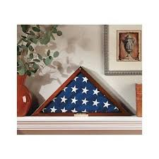 Get Quotations Personalized American Flag Display Case Folded Burial Funeral Military Veteran Memorial Shadow Box Will