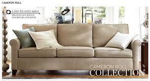 sleek rolled arm small living room furniture 2 removable back
