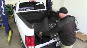 Tacoma Bed Mat by Installation Of The Weathertech Techliner Truck Bed Mat On A 2016