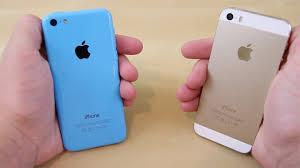 iPhone 5s vs iPhone 5c Full parison