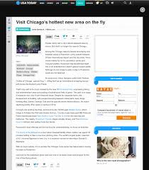 Visit Chicagos Hottest New Area On The Fly