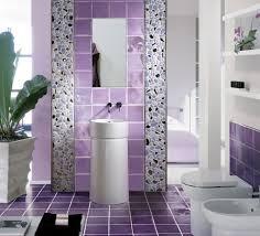 Color For Bathroom Tiles by Bathroom Ideas Cool Bathroom Wall Decoration Purple Color