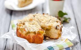low carb zuckerfrei kuchen backen zitronen streuselkuchen