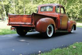 1951 Chevy 3100 5 Window Shortbed Ratrod Original Patina Bad@ss Truck