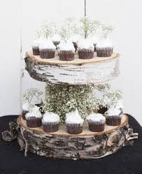DIY Floating Birch Cake Stand