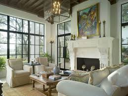 Mediterranean Interior Design Style In The Living Room With Notes Of English Influence