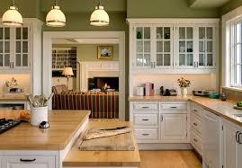 cuisine ouverte sur salle a manger chalet décor decoration