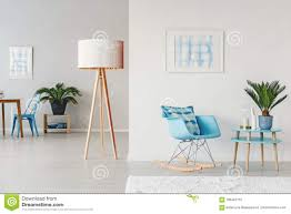 Blue Cozy Living Room Stock Photo. Image Of Pastel, Bright ... Whosale Rocking Chairs Living Room Fniture Set Of 2 Wood Chair Porch Rocker Indoor Outdoor Hcom Traditional Slat For Patio White Modern Interesting Large With Cushion Festnight Stille Scdinavian Designs Lovely For Nursery Home Antique Box Tv In Living Room Of Wooden House With Rattan Rocking Wooden Chair Next To Table Interior Make Outside Ideas Regarding Deck Garden Backyard