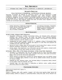 Law Enforcement Resumes Free Resume Templates 2018
