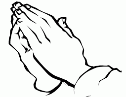 Image Coloring Praying Hands Page In Printable