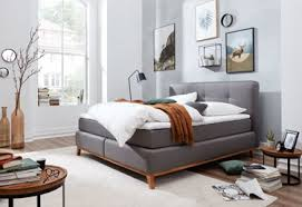 schlafzimmer boxspringbett möbel rehmann velbert