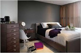 commode chambre à coucher peinture murale grise chambre coucher commode bois rideau deco