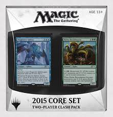 Premade Commander Decks 2015 by Magic 2015 Clash Pack Magic The Gathering