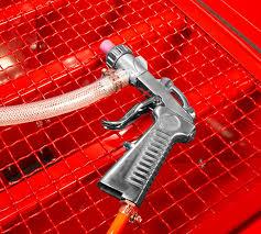 Media Blasting Cabinet Lighting by Dragway Tools Model 60 Sandblast Cabinet Sand Blaster Air Tool