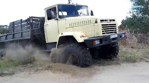 100 Big Truck Videos Russian 6X6 Utility Conquers Deep Deep Sand Proving The Red