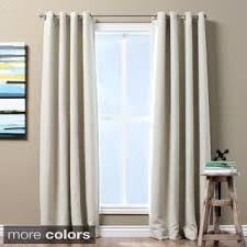 Peri Homeworks Collection Blackout Curtains by Aurora Home Insulated Thermal Blackout 84 Inch Curtain Panel Pair