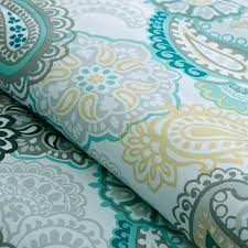 Shop Mizone Tamil Paisley Blue forter Collection The Home