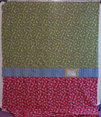 Pieced Quilt Back