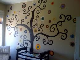 Tree Wall Painting Would Match Bed Setting