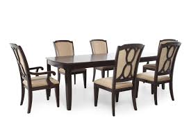 Seven Piece Dining Room Set by Legacy Sophia Seven Piece Dining Set Mathis Brothers Furniture