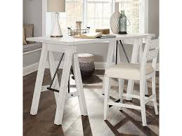 Coming Home Dreamer Saw Horse Table Desk By Trisha Yearwood Home Collection  By Klaussner At Olinde's Furniture