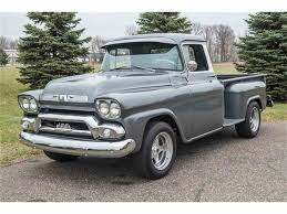 1958 GMC Sierra For Sale | ClassicCars.com | CC-1042920 Gmc Coe Cabover Lcf Low Cab Forward Stubnose Truck Gmc Truck Cab With Title Fleet Option Truck 1958 Auto Trucks 164 M2 Machines 12x1500pic 39 58 Suburban Carrier 12 01 Pickup T15 Dallas 2013 100 For Sale 1974355 Hemmings Motor News Blue Muscle Cars Of Texas Alvintx Us 148317 Sold Fleetside Ross Customs Mit Fauxtina Paint Shortbed Stepside Youtube