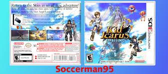 Kid Icarus Uprising Box Art Cover