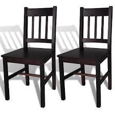 2xholzstuhl esszimmerstuhl küchenstuhl stühle massivholz