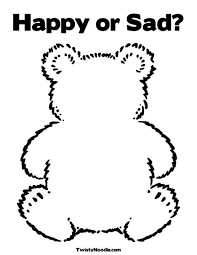 Emotions Site Image Feelings Coloring Page