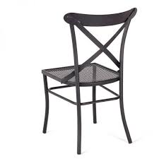 chaise en fer forgé manila 4 pieds tables chaises et