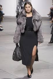 Ashley Graham Candice Huffine Plus Size Models On The Fall 2017 Runways
