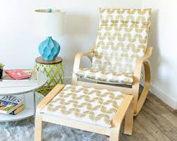 Ikea Poang Chair Covers Canada by Rocking Chair Pads Ikea Slipcovers By Rockincushions On Etsy
