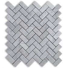 marble herringbone tile marble herringbone backsplash