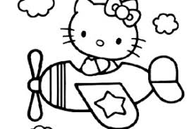 Math Coloring Pages Hello Kitty Graduation Page